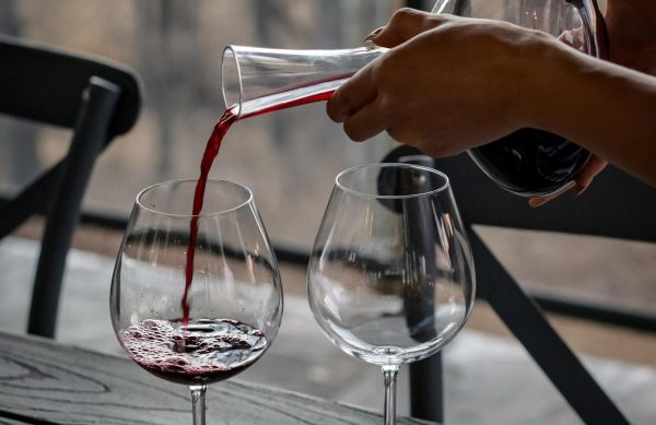 Vin i karaffel