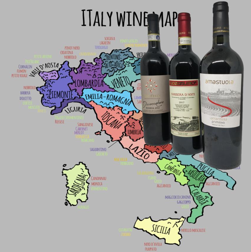 Italiensk smagekasse