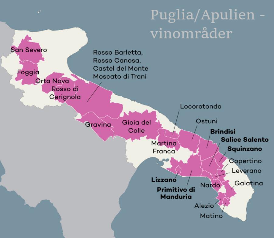 Vin fra Puglia