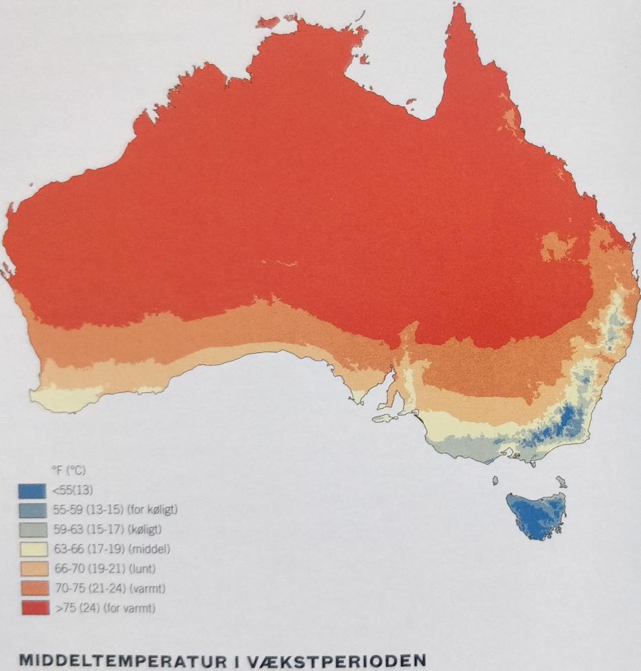 Australsk heatmap