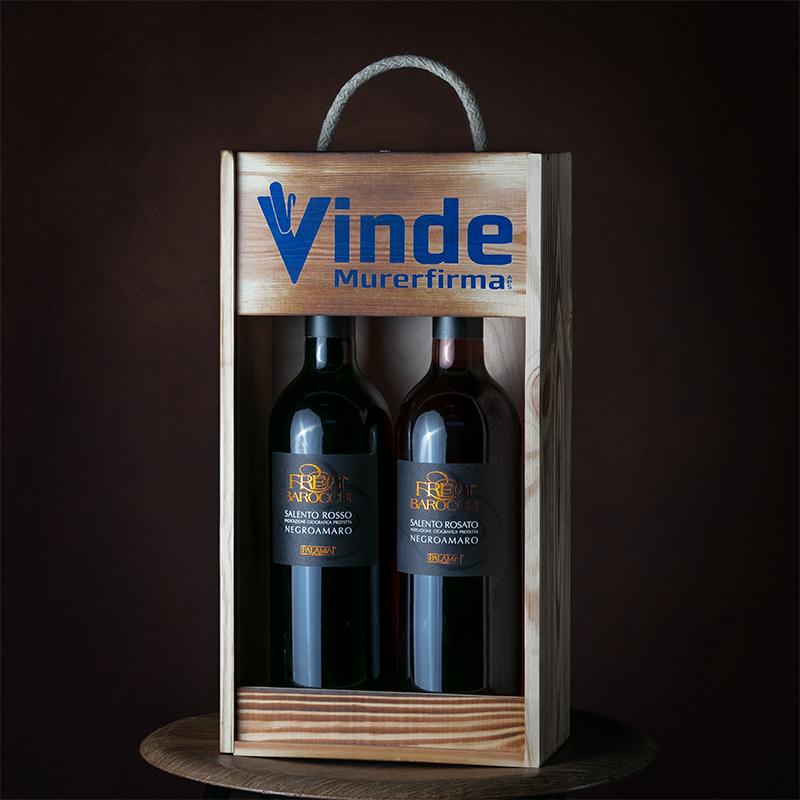 Vin i trækasse